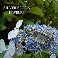 SILVER SPOON JEWELRYアンティークシルバースプーンウォッチ http://item.rakuten.co.jp/bon-eto/a9-silver-phoebe/