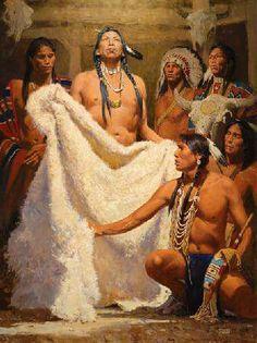 White Buffalo Calf Woman same living spirit of Christ.jpg