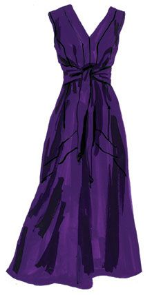 J. Peterman silk dress, I love this color. Now THIS is a cello dress!