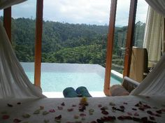 I would love to go to Bali, Indonesia. I would love to relax in it's incredible, natural beauty...