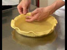 Foncer un moule/cercle à tarte (pour cuisson à blanc)