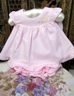 Baby & Toddler Clothing Able New Baby Girl Handmade Bloomer Shorts Size 9-12 Months Girls' Clothing (newborn-5t)