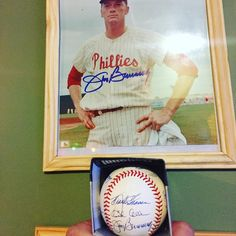 #rip #jim#bunning##wiz #kid#no#hitter#perfect #game#mlb#history #did not he died #politics #ohio#philadelphia #phillies #real#gentleman #baseball #mlb#east#glad#to#have#piece#of#history #autograph #signed#