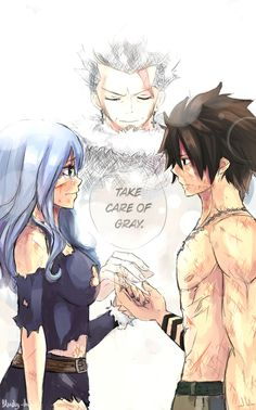 Juvia and Gray (and Silver) | Fairy Tail