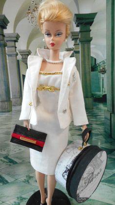*Paris Holiday* Vintage & Reproduction Barbie Silkstone Handmade OOAK by Mary 12