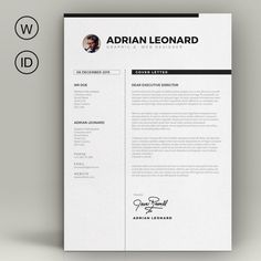 Resume Template by sz81 on Creative Market