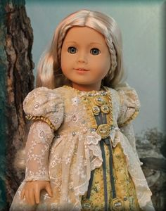 """MHD American Girl 18"""" Doll designer clothes. Just beautiful!"""