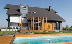 Projekt domu z basenem