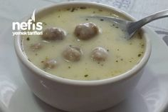 Seasoned Meatball Soup (Gorgeous) – Delicious Recipes - My Shop Meatloaf Recipes, Meatball Recipes, Tasty Meatballs, Meatball Soup, Good Food, Yummy Food, Iftar, Turkish Recipes, Vegetable Recipes