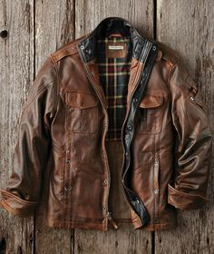 Bend In The Road Leather Jkt