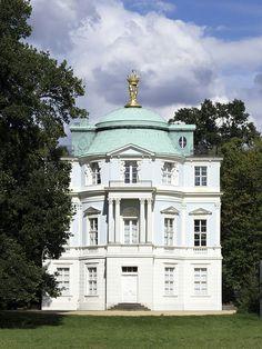 Belvedere tea house at Charlottenburg Schloss, Berlin by Carl Gottard Langhans 1786-88