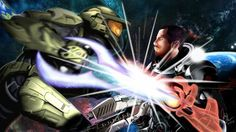 Commander Shepard vs Master Chief  Read the fanpage..according to this-a Biotic Shepard would destroy the MC.