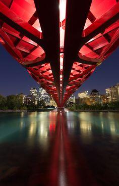 Peace Bridge by Riley Joseph, via 500px  #gilovealberta
