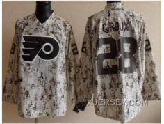 http://www.xjersey.com/nhl-philadelphia-flyers-28-claude-giroux-white-camo-new.html NHL PHILADELPHIA FLYERS #28 CLAUDE GIROUX WHITE CAMO NEW Only $50.00 , Free Shipping!
