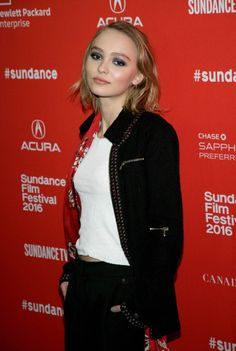 Lily-Rose Depp More unseen pictures.  HQ: Lily at Sundance.