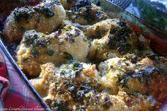 Living the Gourmet: Crispy ~ Oven Fried Chicken