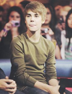 Justin Bieber when he was still cute.