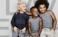 Kurzhaarfrisuren für kleine Jungen - drei Ideen