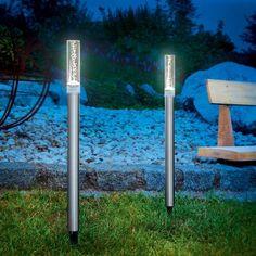 Design lichtstaven op zonne-energie Twin 2-set 3012091