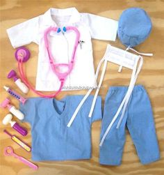 American Girl Doctor's Outfit