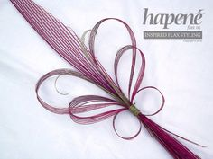 Pink Hapene Butterfly Bouquet - Hapene Online Store, flax flowers and arrangements Flax Weaving, Flax Flowers, New Zealand Art, Pink Butterfly, Craft Stick Crafts, Photo Booth, Floral Arrangements, Showers, Feathers