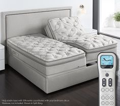 Sleep Number® FlexFit PLUS™ Adjustable Base. Not sure how I lived without my new bed. Best sleep ever!