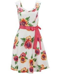 Monsoon Womens Glasshouse Print Prom Dress    Price:$158.00