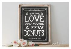 INSTANT 'All you need is LOVE and maybe a few donuts' by JoJoMiMi