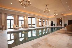 classy pool area!