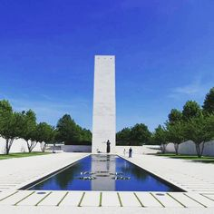 The stillness of the Netherlands American Cemetery is captured beautifully here by @mahaloww #studyabroad #Maastricht #europe #travel #netherlands