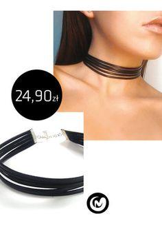 Kup mój przedmiot na #vintedpl http://www.vinted.pl/akcesoria/bizuteria/15704594-choker-ze-skorzanych-paskowmilimoon-czarne-rzemyki-skora-black-naszyjnik