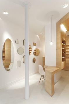La Galerie de Lunettes is a minimal optical store located in Paris, France, and designed by Dumazer & Lafallisse. (5)