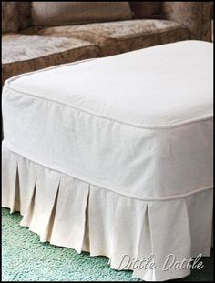No Sew Slipcover From 2 Sheets Someday Pinterest