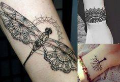 Znalezione obrazy dla zapytania tatuaż na przedramieniu kobiecy
