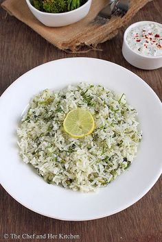 cilantro lime rice- healthy & husband liked in burrito bowl. Used ground coriander since that's what I had on hand