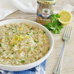 Buo pranzo, oggi risotto al tonno rosa e limone. #risotto #limone #tonno #rizzoliemanuelli #cucinaitaliana #salato #italianlunch #italianfood #pranzoitaliano