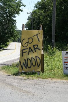 West Virginia haha you know you live in the south if you can understand this sign