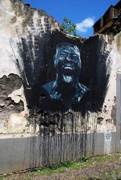 #RenatoRibeiro  #StreetArt  #Portugal  #Machico  #madeira  #ilhadamadeira #spray #streetartportugal #streetartmadeira #Grito #Ogrito