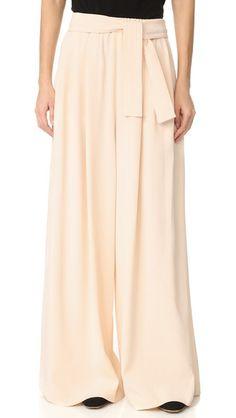 TOME Long Karate Pants. #tome #cloth #dress #top #shirt #sweater #skirt #beachwear #activewear