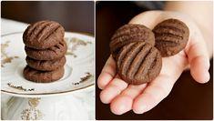 Czech Desserts, Sweet Desserts, Sweet Recipes, Tea Cookies, Brownie Cookies, Chocolate Chip Cookies, Slovak Recipes, Czech Recipes, Baking Recipes