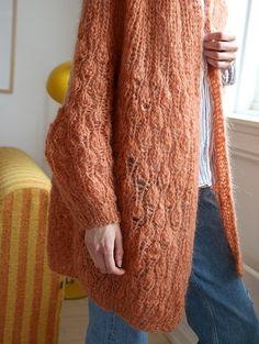 Pickles - Fuzzy Tulip Cardigan - Knitting Pattern and Yarn Kit Leg Warmers, Pickles, Knitting Patterns, Legs, Tulip, Sweaters, Kit, Fashion, Threading