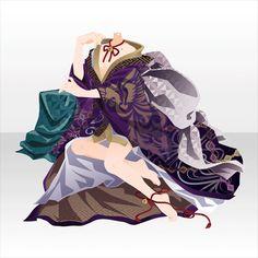 宴妖楼閣|@games -アットゲームズ- Model Outfits, Girl Outfits, Character Inspiration, Character Design, Anime Dress, Cocoppa Play, Drawing Clothes, Anime Scenery, Character Outfits