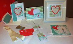 Crafting On Hat: April Paper Pumpkin, Framed Art, Alternate Card, Stampin' Up!, DIY, Papercrafts, Card Making
