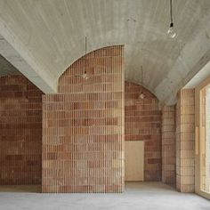 ArchDaily on This building was constructed of five materials: concrete, ceramics, wood, iron, and lime. Architecture Design, Architecture Classique, Minimalist Architecture, Home Interior, Interior And Exterior, Interior Design, Wall Design, House Design, Design Art