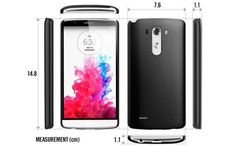 LG G3 trotz 5,5 Zoll Display kleiner als das Samsung GALAXY S5?  #lgg3