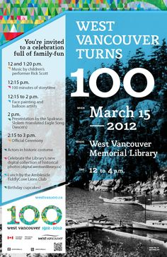 www.westvancouver.ca North Vancouver, Youre Invited, North Shore, Story Time, Presentation, Invitations, Songs, Fun, Design