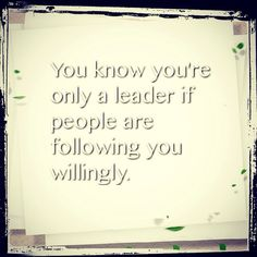 Leaders all need to know this!