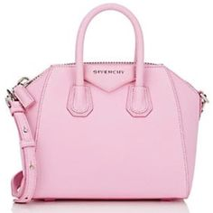 4aaf6a7a34 Givenchy Mini Antigona Sugar Crossbody Pink Leather Shoulder Bag... ($10) ❤