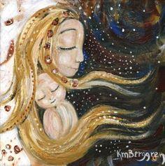 Мир глазами меня - Нежность материнства на холсте