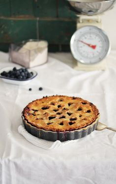 Blueberry Tarte. - frauzuckerstein.de